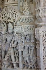 Ranakpur temple (armxesde) Tags: sculpture india statue temple pentax rajasthan ranakpur k5 jainism