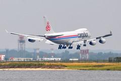 Cargolux Airlines International - Boeing 747-400F (SCD) - LX-SCV - City of Niederanven - John F. Kennedy International Airport (JFK) - September 21, 2011 1 570 RT CRP (TVL1970) Tags: airplane geotagged nikon aircraft aviation rr rollsroyce jfk boeing airlines boeing747 747 jumbojet airliners cargolux b747 747400 jfkairport scd jamaicabay boeing747400 kennedyairport rb211 gp1 d90 b744 johnfkennedyinternationalairport 747f 747400f jfkinternational kjfk 747freighter nikond90 nikkor70300mmvr 70300mmvr lxscv b747f b744f rb211524 7474r7fscd rb211524g bayswaterpark 7474r7f sidecargodoor 7474r7 rb211524ght nikongp1 cityofniederanven rb211524h 747400freighter cargoluxairlines cargoluxairlinesinternational cargoluxinternational runway4r