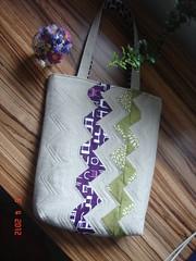 Zakka sew-along Zig-Zag-Tote 7 (zaynoo1) Tags: linen sewing crafts sew quilting patchwork tote zakka sewalong