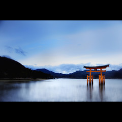 Itsukushima Shinto Shrine (nene-aneON - OFF)) Tags: heritage japan shrine unesco shinto itsukushima
