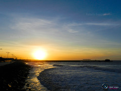 Sunset [9] ( Rafaela Sampaio_) Tags: sunset pordosol sol brasil mar fortaleza cear digitalcameraclub 100commentgroup brasilemimagens flickrstruereflection1 flickrstruereflection2
