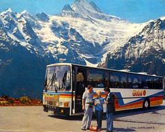 Harris Volvo B58 Van Hool, RGD 964W (miledorcha) Tags: bus volvo coach tourist contract harris van sales tours brochure coaches global psv pcv overland armadale livery b58 hool alizee cotters b5861 rgd964w