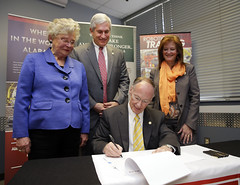 03-14-2014  Alabama Workforce Council Bill ceremonially signed at Nucor Steel in Decatur