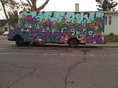 Osker (laughing spinning dancing) Tags: graffiti oakland mw osker mindwarp