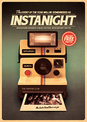 Retro Poster Template Vol. 8 (Indieground Design Inc.) Tags: music color art festival vintage print poster polaroid design photo concert flyer photographer photos gig contest hipster band retro 80s singer indie 70s instant fest psd effect template 90s singal instagram indieground