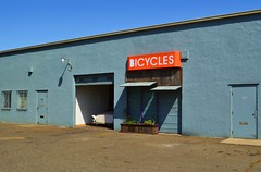 Customs (rickele) Tags: classiccar bicycles sacramento custom bikeshop autobody autoshop sutterville carletontract