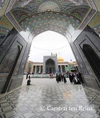 Hazrat-e Masumeh (10b travelling) Tags: persian shrine asia asien iran middleeast persia asie iranian 2014 qom neareast fatemeh ghom moyenorient naherosten hazratemasumeh mittlererosten tenbrink carstentenbrink westernasia iptcbasic 10btravelling