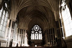 Kylemore Abbey Church (NymeriasDream) Tags: church abbey garden kirche kylemore