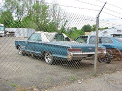 BEAT 1966 CHRYSLER 300 CONVERTIBLE (richie 59) Tags: city trees urban usa ny newyork car america fence us spring parkinglot unitedstates weekend antique antiquecar sunday ripped convertible midtown kingston faded chrome beat torn newyorkstate chrysler mopar 300 chainlinkfence oldcar taillights nys rustycar bluecar backend wornout nystate chrysler300 hudsonvalley kingstonny 2016 2door americancar fadedpaint ulstercounty twodoor smallcity uscar midhudsonvalley americancity midhudson ulstercountyny chryslercorporation uscity 1960scar 2010s oldchrysler oldconvertible americanconvertible chryslerconvertible 1966chrysler richie59 1966chrysler300 oldmopar midtownkingstonny rustychrysler midtownkingston may2016 may222016 1966chryslerconvertible