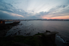 Todo lo Que Ves (Everything That You See) (Dibus y Deabus) Tags: sunset sky españa clouds canon atardecer spain gijón asturias cielo nubes gijon 6d rompeolas puertodeportivo wavebreaker sportport