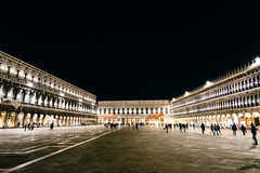 PIAZZA SAN MARCO AT NIGHT (Hsuanya Tsai) Tags: travel venice italy sony venezia flickrsbest a7r sel1635z