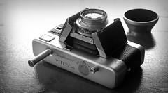 Voigtlander Vitessa A Version 4 - 1950's (Casual Camera Collector) Tags: camera film 35mm vintage lens voigtlander cameracollection ultron vitessa