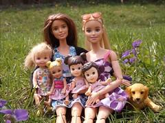 Barbie & Teagan (doll_lovebug) Tags: family love kids lesbian outside doll dolls barbie moms barbies lesbians mothersday loveislove