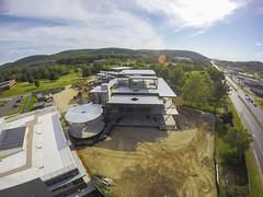 Aerial images of Binghamton University (BinghamtonUniversity) Tags: usa ny construction vestal aerials 2015 buildingsandfacilites innovativetechnologiescomplex smartenergybuilding