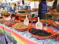 Cahors France  olives_20 (artnbarb) Tags: france market olives cahors