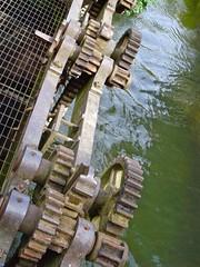 DSC02942 (Alex Hopkins) Tags: england mill shropshire ludlow cogs gears mechanism weir alexhopkins