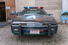 Miracle of American Museum (flippers) Tags: old usa car museum america vintage weird us montana unitedstates police retro american pontiac dare scrap oldfashioned polson miracleofamericanmuseum