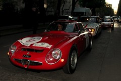 ALFA ROMEO TZ 1965 #57 (seb !!!) Tags: auto old red italy paris france rot classic cars race canon rouge photo rojo italian automobile italia 2000 foto tour image picture competition grand voiture racing course vermelho alfa romeo palais seb bild oldtimers rosso italie imagen tz 57 1965 imagem automovil ancienne automovel optic populaire classique anciennes wagen 2016 automobil italienne klassic berlinette 1100d