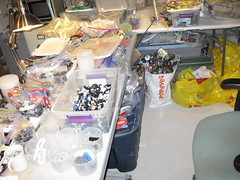 Still Sorting. (DJ Quest) Tags: mixed lego sub part type modified rough sort tote sorting