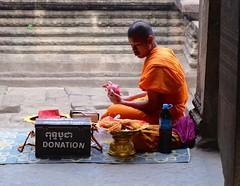 monk (Dave Awtrey) Tags: cambodia