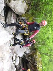 P1120412 (Mountain Sports Alpinschule) Tags: blue mountain sports lagoon canyoning zillertal zemmschlucht alpinschule