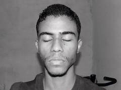 Self-Portrait for unconscious (-persona) Tags: boy selfportrait black persona eyes nikon closed sleep dream american latin unconscious sueo monocrome latinoamrica neonoir
