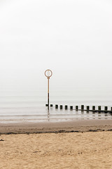 Misty Portobello Edinburgh (Colin Myers Photography) Tags: mist beach colin fog photography coast scotland seaside haze sand edinburgh foggy scottish calm forth portobello tranquil firth myers haar colinmyersphotography