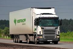 Scania G400   998  116 (RUS) (zauralec) Tags: kurgancity therouter254irtysh transport company leader transrf  scania g400  998  116 rus