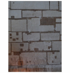 Archeological figure (michelle@c) Tags: abstract net wall grid nef squares drawing geometry space nave form former rectangles basilique saintdenis 2016 michellecourteau