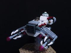 Alternate X-wing (2) (joaqunechavarra) Tags: star lego scifi xwing wars build vignette alternate moc microfighters