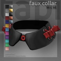 tapi :: faux collar (tapi :: original mesh) Tags: life shirt ribbons fake button second faux collar choker false detachable roulett3