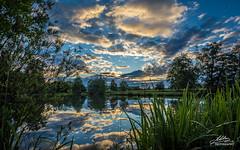 Bobovica lake (Milan Z81) Tags: sunset lake nature croatia priroda hrvatska zalazak jezero samobor bobovica