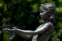 Fountain Girl (mariola aga) Tags: chicago lincolnpark statue fountaingirl