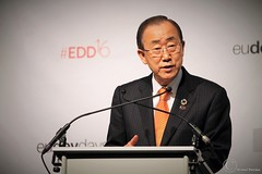 Ban Ki-moon, Secretary General (SG) of the United Nations (UN) - Brussels - European Development Days 2016 - 2016 (1) (Durickas) Tags: edd edd2016 europeandevelopmentdays brussels tourtaxis bankimoon secretarygeneral sg unitednations