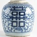 359. Chinese Blue & White Ginger Jar