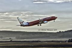 Virgin airways, departure (Matteo Albergucci) Tags: plane airport aircraft australia virgin canberra departure act