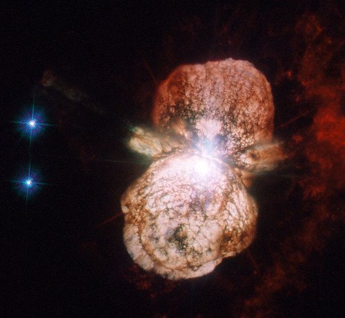 star space nasa hubble hst etacarinae