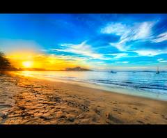 Flamingo - Costa Rica (-Veyron-) Tags: ocean sunset sky costa sun beach america canon atardecer costarica looking pacific flamingo playa pacificocean 7d 1020 hermosa 1022mm hdr 2012 guanacaste canon1022mm tonemapping canon7d
