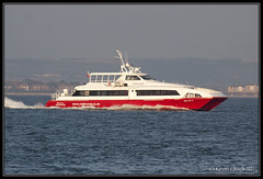 Red Jet 5 (leightonian) Tags: uk ferry island boat ship unitedkingdom isleofwight solent gb isle cowes wight iow passengerferry