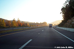 Interstate 81 - Dawn 2 (jmillerdp) Tags: road trip travel color digital sunrise dawn highway kodak roadtrip interstate 81 dc280