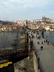 Prague (mathbarges) Tags: bridge prague prag charles praha most pont karlv karlsbrcke