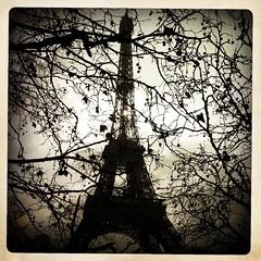 La Tour Eiffel (patrickryanzero) Tags: cameraphone paris france tower mobile cool ryan photojournalism patrick iphone libatique patrickryan iphonography iphoneography hipstamatic instagram