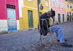 (F o t o l i t a) Tags: brazil southamerica brasil férias bahia salvador siesta vacaciones brasile pelourinho brésil américadosul soneca echandounacabezada