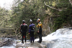 Scouting a firstdescent on the Nuno Bei