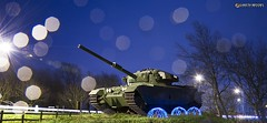Centurion Tank attacked by Alien Jellyfish! - Published (Gareth Brooks) Tags: longexposure lightpainting starburst leyland britishtank centuriontank centurionmainbattletank