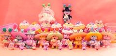Tea Bunnies (DollyBeMine) Tags: baby cute rabbit bunny cup hat easter toy groom bride doll tea collection cupcake figure teacup bonnet teabunnies