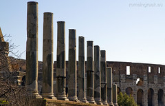 """Temple of Venus and of Rome • <a style=""""font-size:0.8em;"""" href=""""http://www.flickr.com/photos/89679026@N00/6834157762/"""" target=""""_blank"""">View on Flickr</a>"""