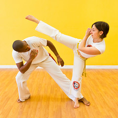 Capoeira Mestre BimbaOakland (shboom) Tags: oakland fight capoeira martialart kick brazilian