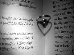 Love Is Eternal (Hanna-) Tags: white black love book romance ring forever tiffany eternal