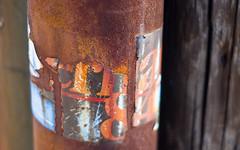 McKernan '84 (Jody Roberts) Tags: old rust pentax politics maine 1984 bumpersticker kx mckernan kennebeccounty